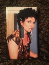Debbie Harry Blondie Single Light Switch Cover Black Hair Cigarette Punk Deborah