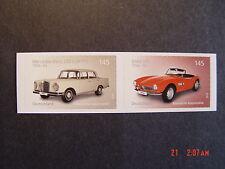 BRD 3148-3147** skl. aus Folienblatt 47 - Automobile MB220S-BMW507 (Zdr.)
