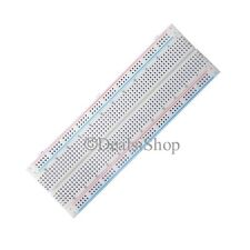 Solderless Breadboard Protoboard MB102 830 Tie Points PCB Bread Board Test DIY