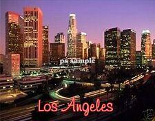 Calif - LOS ANGELES night sky Travel Souvenir Magnet