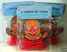 12 Jumping Scissor Action Toy Clown Old Store Stock