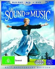 The Sound Of Music (Blu-ray, 2010, 3-Disc Set)