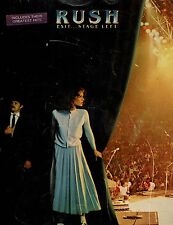 Rush Exit Stage Left Piano, Vocal, Guitar Song Book P/V/G