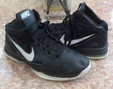 Nike Flywire High Top Boy's Black White Basketball Shoes Size 9 #454148-011 Euc