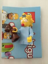 Lego Mini-Figure Simpsons Series 1 Maggie Simpson With Teddy Bear