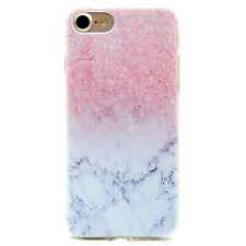 iPhone 7 iPhone 8 Hülle Cover Schutzhülle mit Marmor pink rosa Design