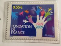 FRANCE 2009, paire timbres 4335, FONDATION DE FRANCE, neuf** MNH STAMP