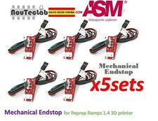 5pcs Mechanical Endstop for Reprap RAMPS 1.4 3D printer ENVIO RAPIDO