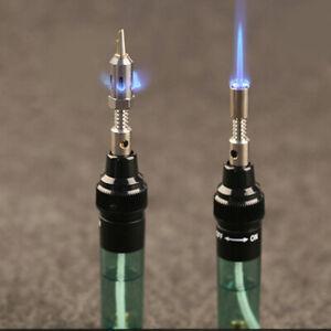 3-in-1 Gas Blow Torch Soldering Solder Iron Pen Butane Cordless Weld Gun Burner
