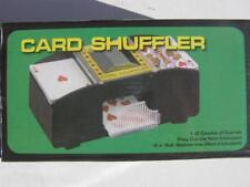 Kartenmischmaschine Poker Karten Mischer Card Shuffler Mischmaschine bis 2 Decks