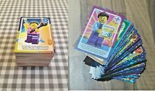 Lego create the world cards both sets series 1 (yellow) and 2 (blue) complete