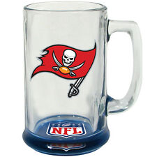 Tampa Bay Bucaneers Hunter Mfg NFL 15oz Bottoms Up Highlight Sport Glass Mug