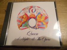 QUEEN  NIGHT AT THE OPERA AAD EMI RECORDS WEST GERMANY 1975 CD 12 TRACKS USED