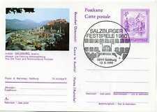 Bild GA Ganzsache Österreich Salzburg Salzburger Festspiele 1980 GA056