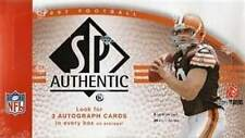 2007 Upper Deck UD SP Authentic Football Factory Sealed Hobby Box - 3 Autos a Bx