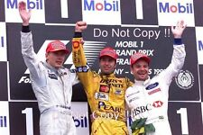 Heinz-Harald Frentzen Jordan Winner French Grand Prix 1999 Photograph 2