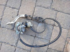 Cannondale 440 Cannibal Rear Brake Assembly Caliper Pedal Master Cylinder