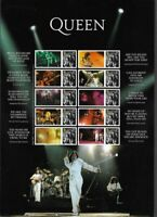 Queen-2020 Freddie Mercury -Collectors sheet Postage stamp Great Britain new mnh