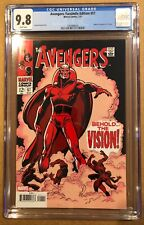 AVENGERS # 57 FACSIMILE EDITION CGC 9.8. (1/21). FIRST VISION.