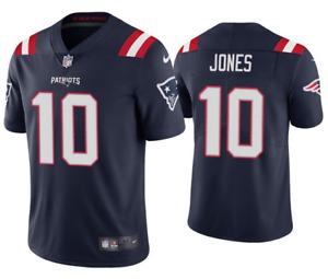 Men's Mac Jones #10 New England Patriots Game Jersey