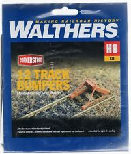 HO Scale Walthers Cornerstone 933-3511 Track Bumpers Kit