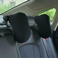 Car Seat Pillow Neck Headrest Travel Adjustable Side Support Sleep Soft Cushion