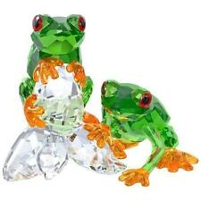 SWAROVSKI FROGS BRAND NEW IN BOX #5136807 LOVE COLOR  CRYSTAL GREEN SAVE$$ F/SH