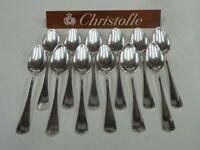CHRISTOFLE JAPONAIS 12 CUILLERES A CAFE t:14.50cm - très bel état