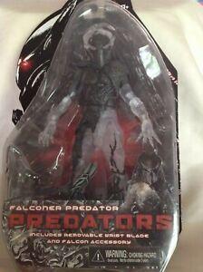"""NECA Cloaked Falconer Predator Falcon Accessory 7"""" Action Figure NIB Age 17+ wr"""