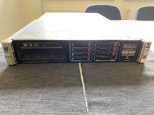 HP ProLiant DL380p Gen8, 2x Intel Xeon E5-2609, 132GB RAM, Smart Array P420i