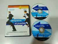 Atrapame si Puedes Tom Hanks Leonardo Dicaprio - 2 x DVD Español English - AM