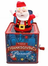 Macy's Collectible Toy Thanksgiving Day Parade Christmas Santa Jack in the Box