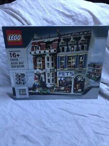 Lego 10218 - L'animalerie - Creator Expert - Neuf Scellé Boîte En Parfaite État
