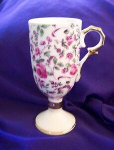PINK ROSE CHINTZ ESPRESSO CUP
