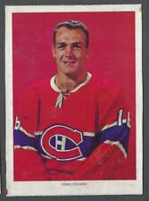 1963-65 Chex Montreal Canadiens Hockey Photos #46 Henri Richard
