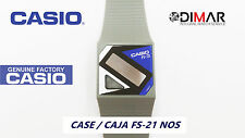 CAJA/CASE CENTER  CASIO FS-21 NOS