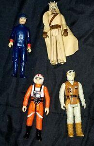 Vintage Collection 1977-1980 Lot of 4 Original Star Wars Figures