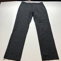 J Crew 100% Wool Mens Gray Dress Pants Sz 32x32 A2110