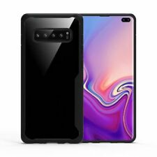 For Samsung Galaxy S10 Plus Shockproof Rugged Clear Hard Soft TPU Case Cover