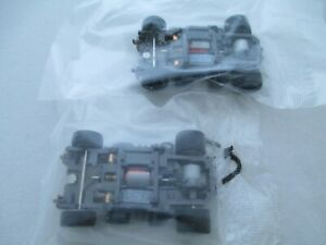 MATTEL HPX2 H.O. SLOT CAR - 2 CHASSIS NOS!!