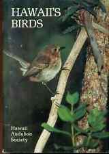 HAWAII'S BIRDS (1989) Hawaii Audubon Society 116-page color SC
