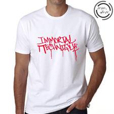 Immortal Technique Logo Men's White T-Shirt Size S M L XL 2XL 3XL