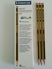 24 PACK STAEDTLER NORIS HB PENCILS SCHOOL STUDENT DRAWING ART DESIGN SKETCHING