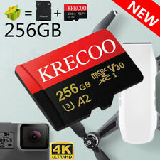 256GB Micro Memory Card Fast 4K Class10 Flash TF Card with Adapter Phone Camera