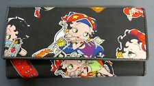 BETTY BOOP EZ RIDE WALLET VERY NICE ZIPPER COIN PICTURES CREDIT CARD HOLDER 2003