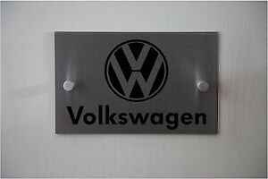 VW Automotive Car Sign **Aluminum & Acrylic sign** Indoor or Outdoor sign