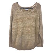 Women's Rockmans Long Sleeve Fuzzy Cowl Knit Jumper Knitwear Size M