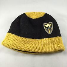 Rome Snowboards Badge Beanie Black and Gold