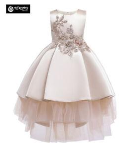 Vestito Bambina Cerimonia Feste Damigella Compleanno Party Girl Dress CDR106