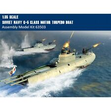 Merit 63503 1/35 Scale Soviet Navy G-5 Class Motor Torpedo Boat Assembly Model